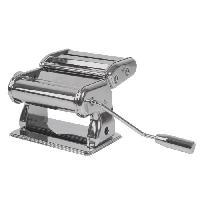 Ustensiles De Cuisine EQUINOX Machine a pâtes gris + poignée noire + notice d'utilisation