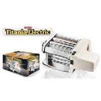Ustensiles De Cuisine IMPERIA 6758416 Machine a pâtes électrique - Titania - Acier inoxydable