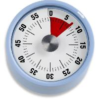 Ustensiles De Pesage - Mesure ADE 0408005 Minuteur Mecanique - Support magnetique - Cadran Rond TD 1705 - Bleu