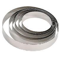 Ustensiles Patisserie DE BUYER Cercle Collectivite - Ø 20 cm - Argenté