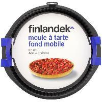 Ustensiles Patisserie FINLANDEK Moule a tarte metal 28 cm fond mobile