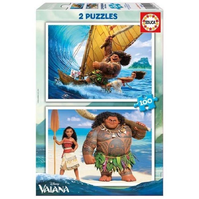 VAIANA-2-Puzzles-100-Pieces-Educa