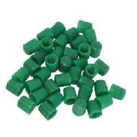 Valves et Capuchons 100 Bouchons de valve verts azote - ADNAuto