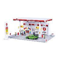 Vehicule - Engin Terrestre  A Construire BBURAGO Station service + 1 Vehicule Street Fire 1-43eme