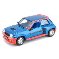 Vehicule - Engin Terrestre  A Construire BBURAGO Voiture Renault R5 Turbo 1 1-24eme - Bleu