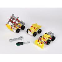Vehicule - Engin Terrestre  A Construire Bosch - Set de construction Constructor Team 3 en 1