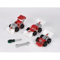 Vehicule - Engin Terrestre  A Construire Bosch - Set de construction Racing Team 3 en 1
