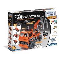 Vehicule - Engin Terrestre  A Construire CLEMENTONI Mon atelier mecanique - Camions de transport