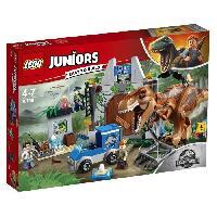 Vehicule - Engin Terrestre  A Construire Juniors Jurassic World 10758 L evasion du tyrannosaure