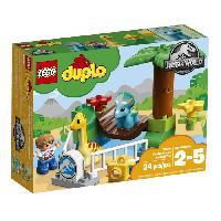 Vehicule - Engin Terrestre  A Construire LEGO DUPLO Jurassic World? 10879 Le Zoo Des Adorables Dinos