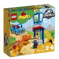 Vehicule - Engin Terrestre  A Construire LEGO DUPLO Jurassic World? 10880 La Tour Du T-Rex