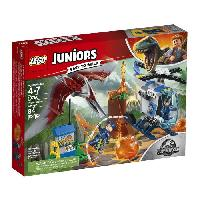 Vehicule - Engin Terrestre  A Construire LEGO Juniors Jurassic World? 10756 La Fuite Du Pteranodon