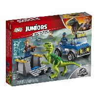 Vehicule - Engin Terrestre  A Construire LEGO Juniors Jurassic World? 10757 Le Camion De Secours Des Raptors