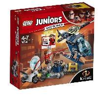 Vehicule - Engin Terrestre  A Construire LEGO Juniors The Incredibles II 10759 La Poursuite Sur Les Toits D'Elastigirl