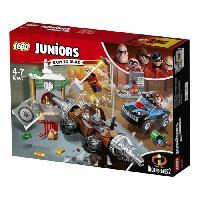 Vehicule - Engin Terrestre  A Construire LEGO Juniors The Incredibles II 10760 Le Braquage D'Une Banque Du Demolisseur