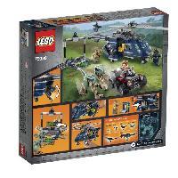 Vehicule - Engin Terrestre  A Construire LEGO Jurassic World? 75928 La Poursuite En Helicoptere De Blue