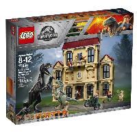 Vehicule - Engin Terrestre  A Construire LEGO Jurassic World? 75930 La Fureur De Indoraptor a Lockwood Estate