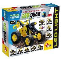 Vehicule - Engin Terrestre  A Construire LISCIANI GIOCHI Jeux de construction Stem Technics 10 En 1 - Quads a leds