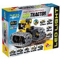 Vehicule - Engin Terrestre  A Construire LISCIANI GIOCHI Jeux de construction Stem Technics 10 En 1 - Tracteurs a leds