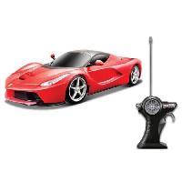 Vehicule - Engin Terrestre  A Construire MAISTO Tech Voiture telecommandee 1-14 rc Ferrari laFerrari -rouge- batteries incluses Generique