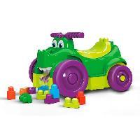 Vehicule - Engin Terrestre  A Construire Mega Bloks - Mega Bloks Porteur Croc Blocs - 1 an et + Mattel