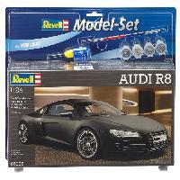 Vehicule - Engin Terrestre  A Construire REVELL Maquette Model set Voitures Audi R8 -67057