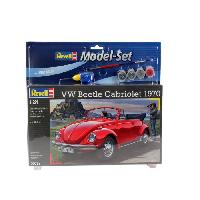 Vehicule - Engin Terrestre  A Construire REVELL Maquette Model set Voitures VW Beetle Cabriolet'70 67078
