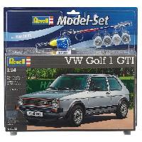 Vehicule - Engin Terrestre  A Construire REVELL Maquette Model set Voitures VW Golf 1 GTI 67072