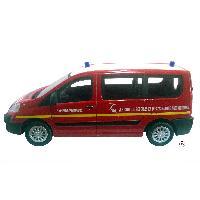 Vehicule - Engin Terrestre Miniature 1 Fourgonnette securite Pompiers - 143 - MID