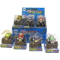 Vehicule - Engin Terrestre Miniature 24x Mini Big Wheels - assortiment - Generique