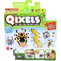 Vehicule - Engin Terrestre Miniature ASMOKIDS - QIXELS - Mini Kit 4 Creations - Theme INSECTES - Kanai Kids