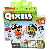 Vehicule - Engin Terrestre Miniature ASMOKIDS - QIXELS - Mini Kit 4 Creations - Theme PIRATES - Kanai Kids