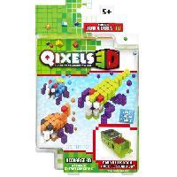 Vehicule - Engin Terrestre Miniature ASMOKIDS- RECHARGE ATTAQUE EXTRATERRESTRE- QIXELS 3D - Kanai Kids