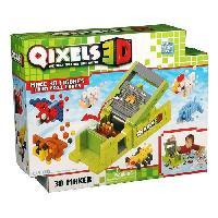 Vehicule - Engin Terrestre Miniature ASMOKIDS- STUDIO 3D- QIXELS 3D - Kanai Kids