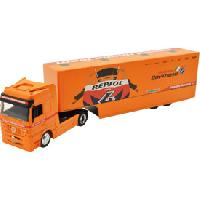 Vehicule - Engin Terrestre Miniature Camion 1-43 Mercedes Benz Actros HONDA TEAM - ADNAuto