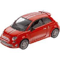 Vehicule - Engin Terrestre Miniature Voiture 1-18 FIAT 500 ABARTH Tributo FERRARI 12027 [848107] - ADNAuto