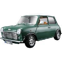Vehicule - Engin Terrestre Miniature Voiture 118 MINI COOPER 1969 vert BURAGO [848485] - ADNAuto