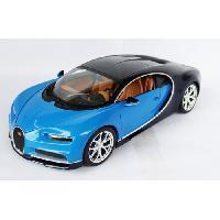 Vehicule - Engin Terrestre Miniature Voiture BUGATTI CHIRON BLEUE Echelle 118 - Burago