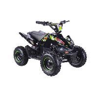 Vehicule BIKEROAD Quad Electrique Raptor 500W Vert avec LED - Quad enfant Generique