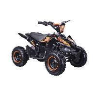 Vehicule BIKEROAD Quad Electrique Raptor 800W Orange avec LED - Quad enfant Generique