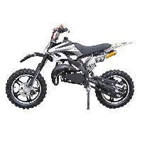 Vehicule DIRT BIKE Mini moto 50 cc 2 Temps Enfant - Noire - Livree Prete a Rouler - Taotao