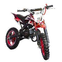 Vehicule DIRT BIKE Mini moto 50 cc 2 Temps Enfant - Rouge - Livree Prete a Rouler - Taotao