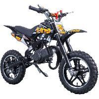 Vehicule E-ROAD Dirt Bike Pocket Cross 49.9 cc - Noir