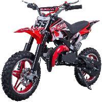 Vehicule E-ROAD Dirt Bike Pocket Cross 49.9 cc - Rouge