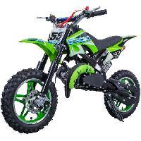 Vehicule E-ROAD Dirt Bike Pocket Cross 49.9 cc - Vert