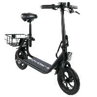 Vehicule E-ROAD Mini scooter electrique - Mini Cocobeach - 350 W - 36 V - 4.4 Ah - Noir