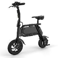 Vehicule E-ROAD Trottinette Draisienne électrique - Pixie - 350 W - 36 V - 4 Ah - Noir