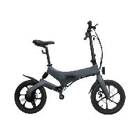 Vehicule IRIDER Draisienne / Trottinette Electrique - Larges roues de 16 - Gris - 250W - Pliable Aucune