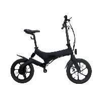 Vehicule IRIDER Draisienne / Trottinette Electrique - Larges roues de 16 - Noir - 250W - Pliable Aucune