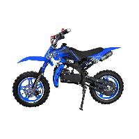 Vehicule PIKI - Dirt Bike - Sport - 49cc Bleu - Aucune